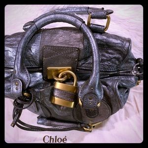 Authentic Cloe bag with padlock